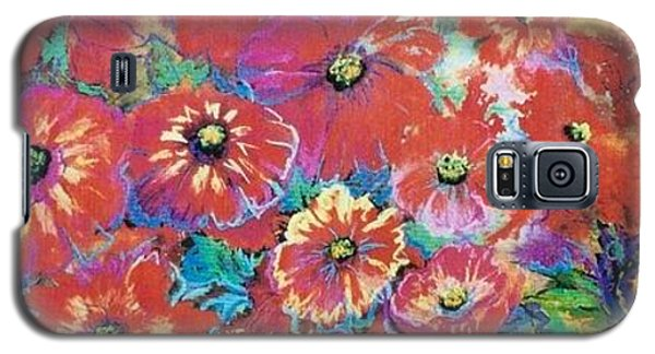 Floating Floral Galaxy S5 Case