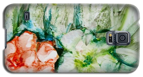 Floating Flowers 3 Galaxy S5 Case by Laurie Morgan