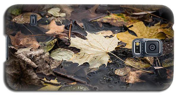 Floating Leaves Galaxy S5 Case