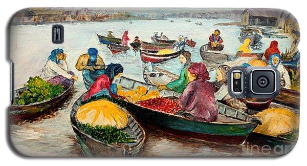 Floating Market Galaxy S5 Case by Jason Sentuf