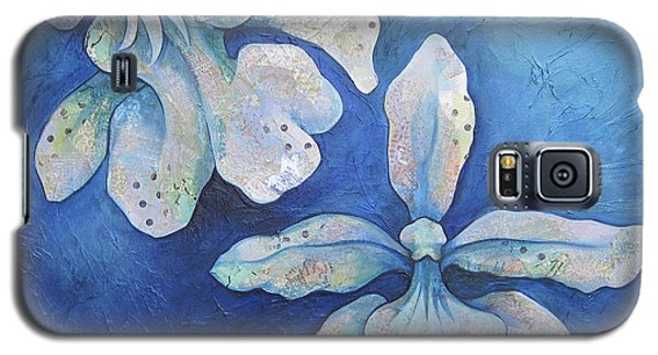 Floating Orchid Galaxy S5 Case by Shadia Derbyshire