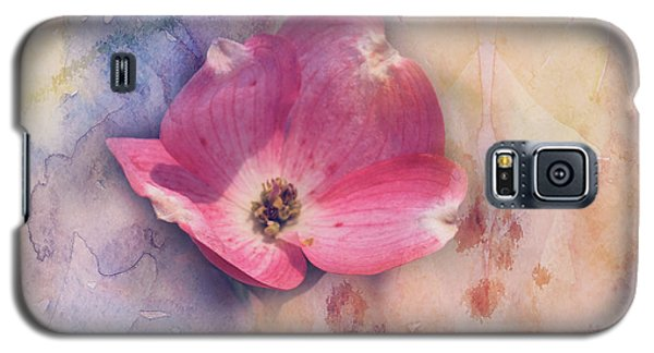 Floating Pink Bloom Galaxy S5 Case by Toni Hopper