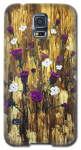 Floating Royal Roses Galaxy S5 Case