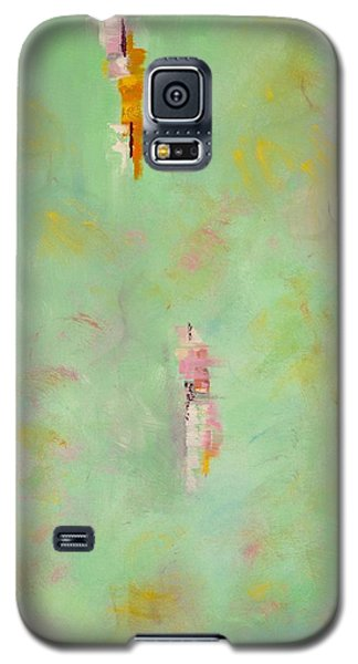 Galaxy S5 Case featuring the painting Floating by Suzzanna Frank