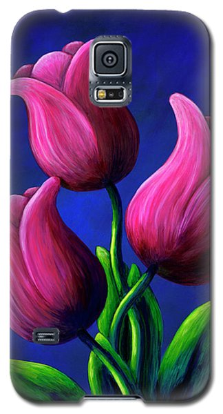 Floating Tulips Galaxy S5 Case