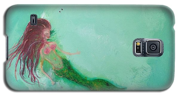 Floaty Mermaid Galaxy S5 Case