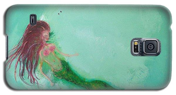 Galaxy S5 Case - Floaty Mermaid by Roxy Rich