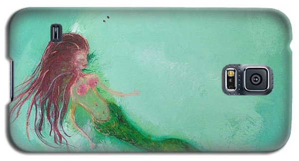 Galaxy S5 Case - Floaty Mermaid by Roxy Rich