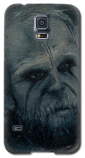 Galaxy S5 Case featuring the painting Floki by Lynn Hughes