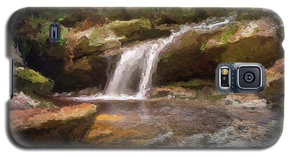 Flooded Waterfall In The Forest Galaxy S5 Case
