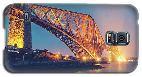 Floodlit Forth Bridge Galaxy S5 Case by Ray Devlin