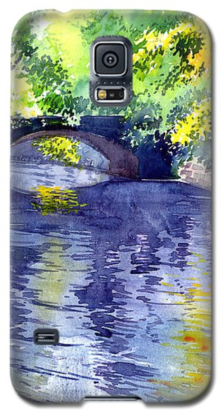 Galaxy S5 Case featuring the painting Floods by Anil Nene