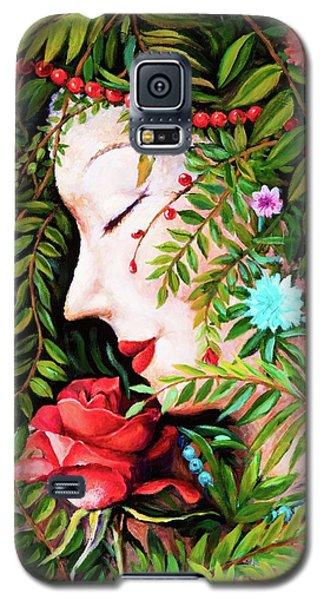Flora-da-vita Galaxy S5 Case