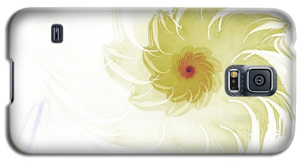 Galaxy S5 Case featuring the digital art Flora by Richard Ortolano