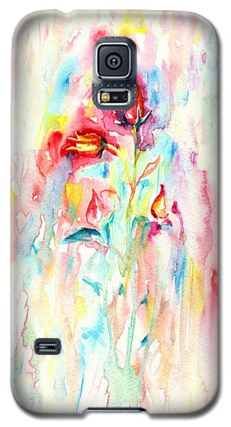 Floral Abstract Galaxy S5 Case