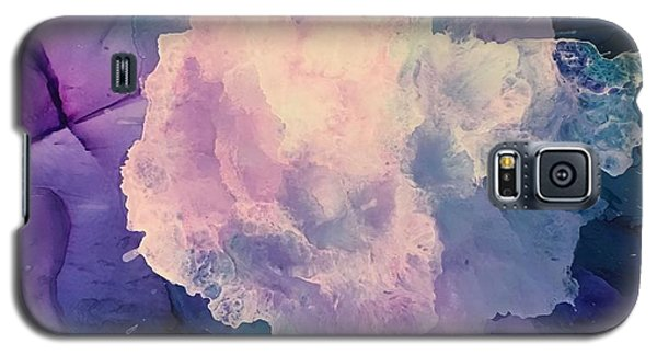 Floral Abstract Galaxy S5 Case by Suzanne Canner