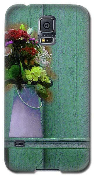Floral Art 324 Galaxy S5 Case