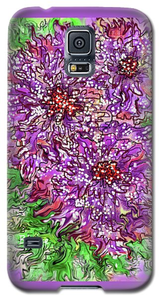 Floral Burst Galaxy S5 Case