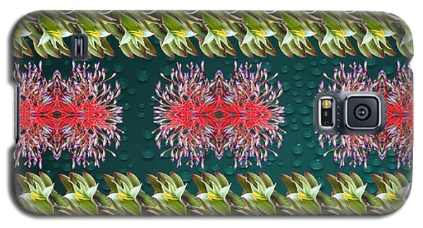 Floral Contemporary Art Galaxy S5 Case