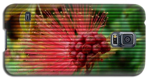 Floral Fan Galaxy S5 Case