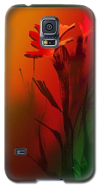 Floral Fantasy Galaxy S5 Case by Asok Mukhopadhyay