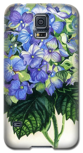Galaxy S5 Case featuring the painting Floral Favorite by Barbara Jewell