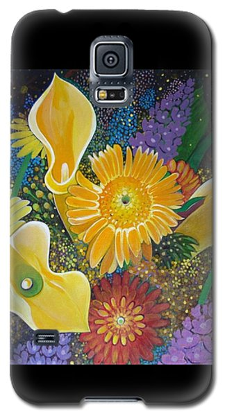Floral Fireworks Galaxy S5 Case
