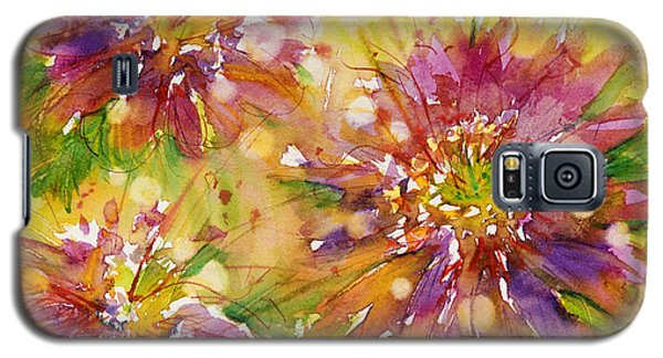 Floral Fireworks Galaxy S5 Case by Judith Levins