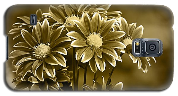 Floral Gold Collection Galaxy S5 Case by Marvin Blaine