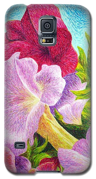 Floral In Pinks Galaxy S5 Case
