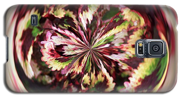 Floral Orb Galaxy S5 Case by Bill Barber