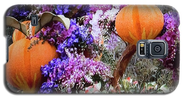 Galaxy S5 Case featuring the photograph Floral Peaches by Linda Phelps