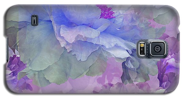 Floral Potpourri With Peonies 4 Galaxy S5 Case