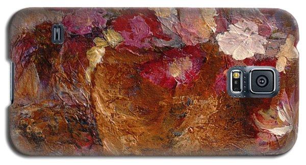 Floral Still Life Pinks Galaxy S5 Case