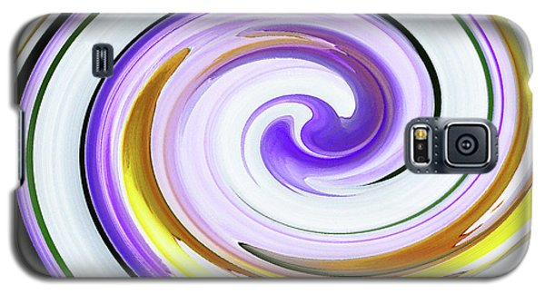 Galaxy S5 Case featuring the photograph Floral Swirl 3 by Margaret Saheed