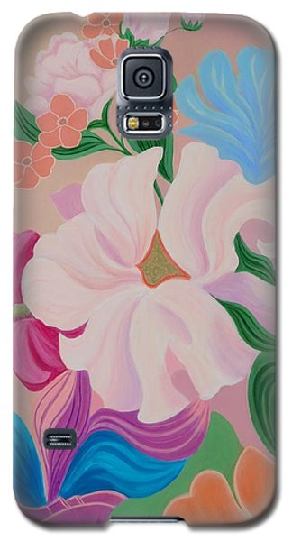 Floral Symphony Galaxy S5 Case by Irene Hurdle