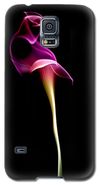 Lily Galaxy S5 Case - Floral Wisp by Maggie Terlecki