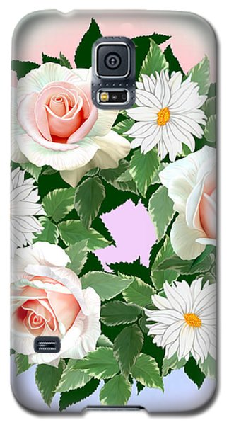 Floral Wreath Galaxy S5 Case