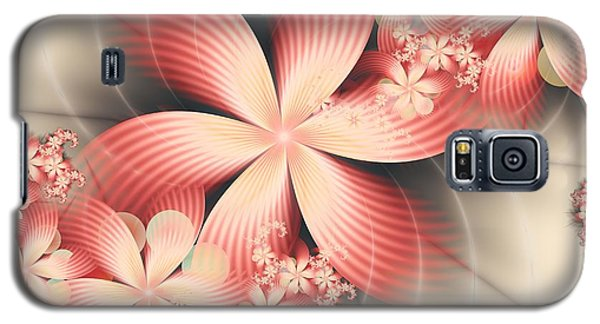 Galaxy S5 Case featuring the digital art Floralina by Michelle H