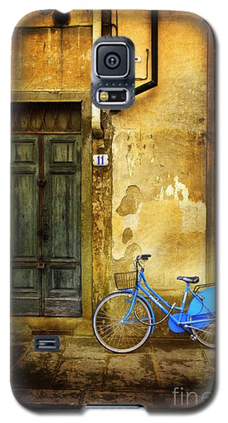 Florence Blue Bicycle Galaxy S5 Case