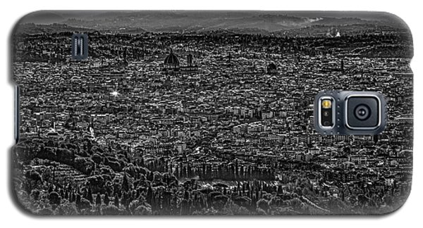 Galaxy S5 Case featuring the photograph Florence From Fiesole by Sonny Marcyan