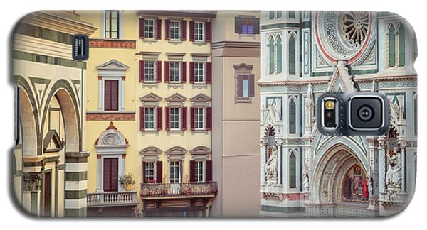 Galaxy S5 Case featuring the photograph Florence Italy View by Joan Carroll