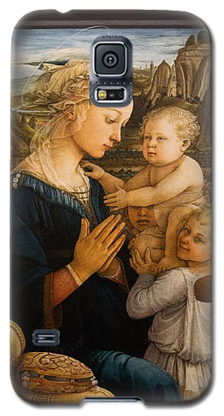 Florence - Madonna And Child With Angels- Filippo Lippi Galaxy S5 Case