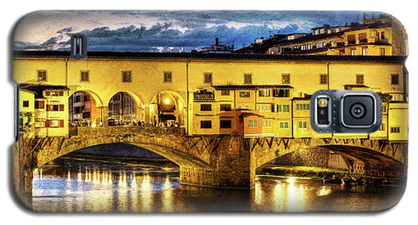 Florence - Ponte Vecchio Sunset From The Oltrarno - Vintage Version Galaxy S5 Case