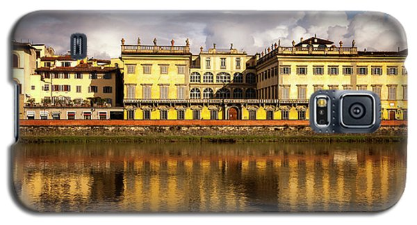 Galaxy S5 Case featuring the photograph Florence Reflections by Andrew Soundarajan