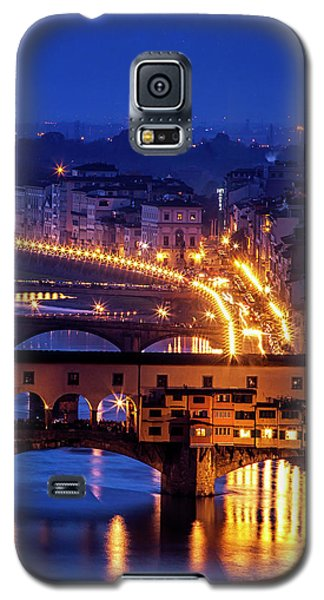 Galaxy S5 Case featuring the photograph Florentine Strands by Andrew Soundarajan