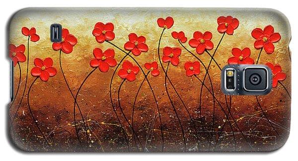 Flores De Mi Jardin Galaxy S5 Case