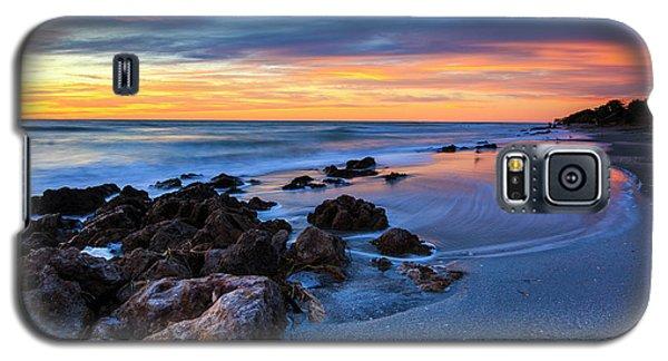 Florida Beach Sunset 3 Galaxy S5 Case