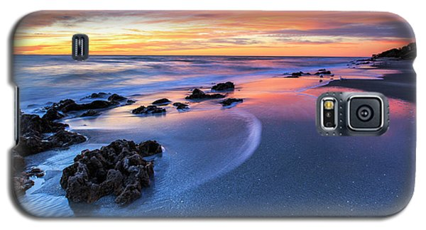 Florida Beach Sunset 4 Galaxy S5 Case