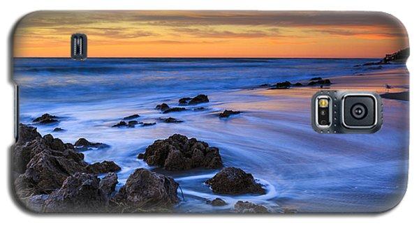 Florida Beach Sunset Galaxy S5 Case
